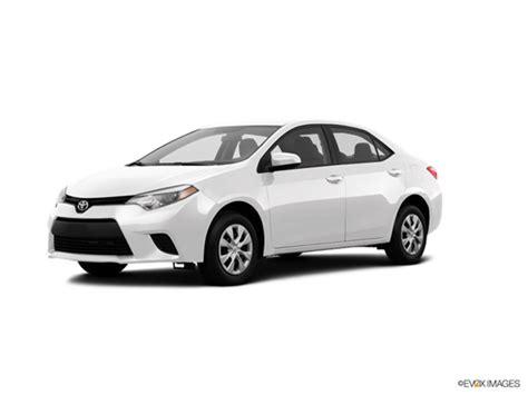 Toyota Corolla Le 2016 Price 2016 Toyota Corolla Kelley Blue Book