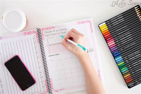 the 2016 blog planner free printable pages 2016 diy planner blog planner free printable pages
