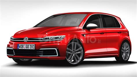 golf volkswagen 2017 2017 vw golf rendering previews what to expect