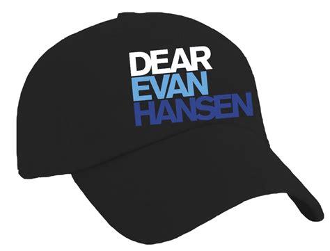 Logo Baseball Hat dear evan hansen the musical logo baseball hat