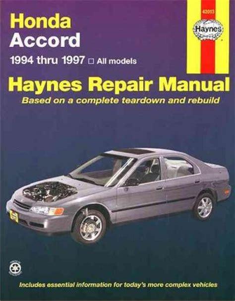 old car owners manuals 1997 honda accord user handbook service manual 1997 honda accord owners repair manual 2009 honda accord sedan owners manual