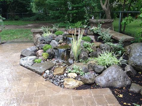 Hometalk Landscape Garden Design Waterfalls Water Water Features For Patios
