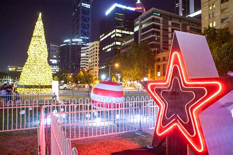 city of perth christmas lights trail last days visit