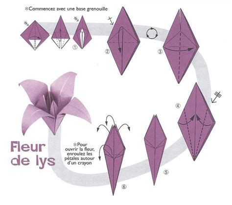 Fleur Origami - 17 best ideas about origami facile on pliage