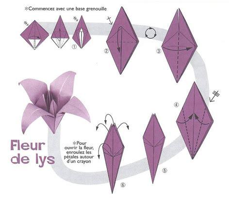 Fleur Origami - best 25 origami fleur ideas on fleurs en