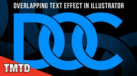 how to create explosion text effect in illustrator illustrator tutorials overlapping text effect in