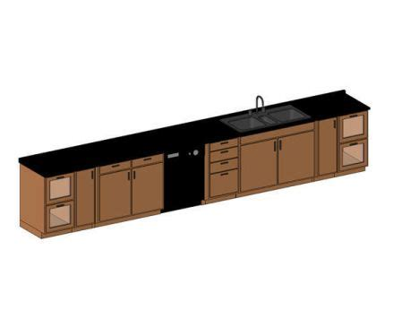 revit kitchen cabinets revit counter sink modlar com
