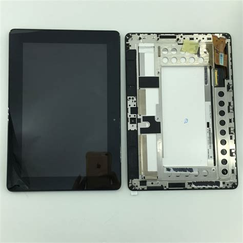Lcd Asus Zenfone6 Touchscreen used parts lcd display monitor touch screen panel digitizer assembly frame for asus memo pad