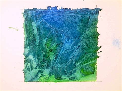 watercolor texture tutorial watercolor techniques plastic wrap watercolor textures