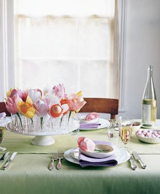 colored table ls easter table decoration and centerpiecesinterior