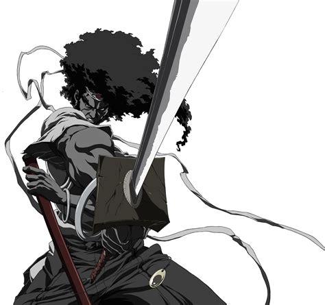 4thletter 187 afro samurai