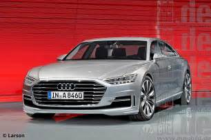 Audi A8 Redesign New Specifics 2018 Audi A8 Rendering Engine And Release