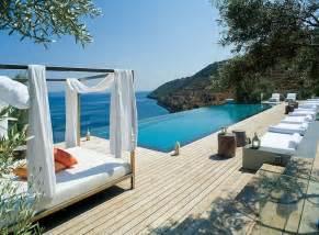 Backyard Billiards Four Breathtaking Greek Villas