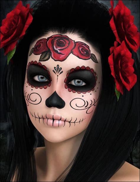 imagenes de catrina halloween 21 ideas de maquillaje de catrina con disfraz y peinados