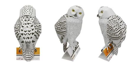 Canon Creative Park Snowy Owl 47 Best 3d Paper Craft - canon paper craft snowy owl snowy owl and owl