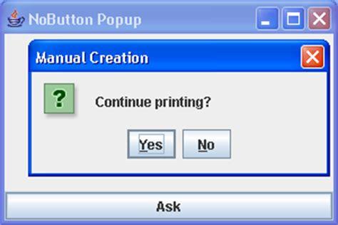 swing show dialog display error message dialog with joptionpane error