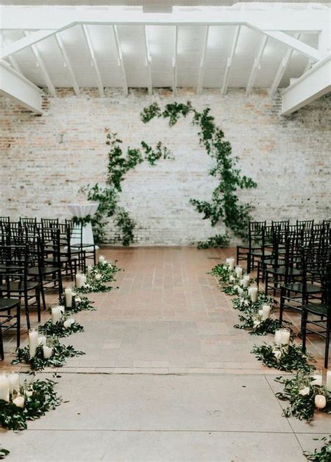 Wedding Ceremony Decoration Ideas Pictures by Trending 21 Green And Grey Wedding Color Ideas For