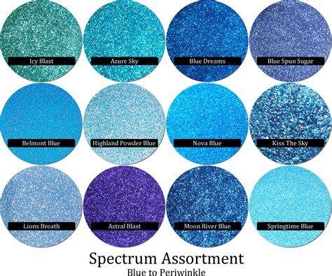 is glitter a color spectrum glitter mix blue periwinkle 12 colors