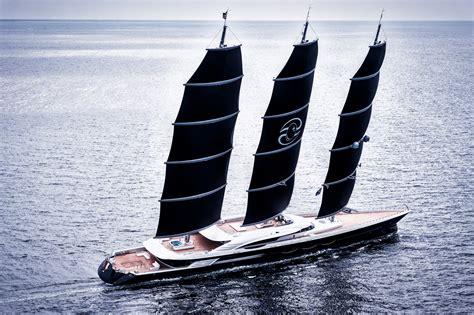 zeil yacht black pearl yacht 107m luxury sailing yacht with dynarig
