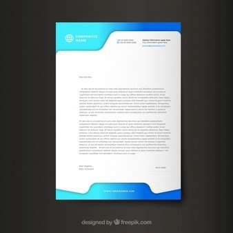 modern business letter template word letter vectors photos and psd files free