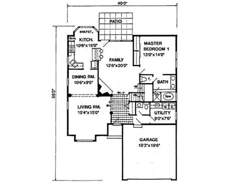 1900 square foot house plans bungalow style house plan 4 beds 2 50 baths 1900 sq ft