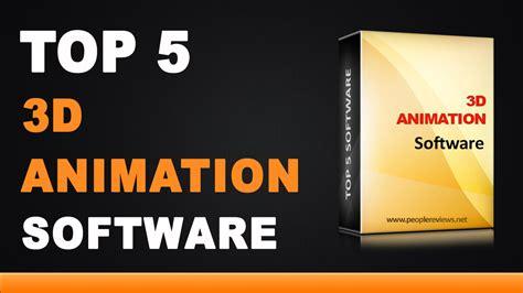best 3d animated best 3d animation software top 5 list