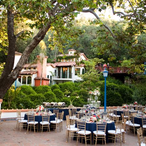 outdoor wedding venues orange county ca el teatro rancho las lomas orange county open air