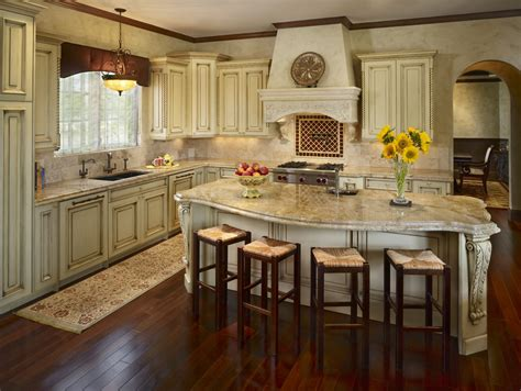 traditional kitchen island corbels for granite kitchen traditional with blue hood