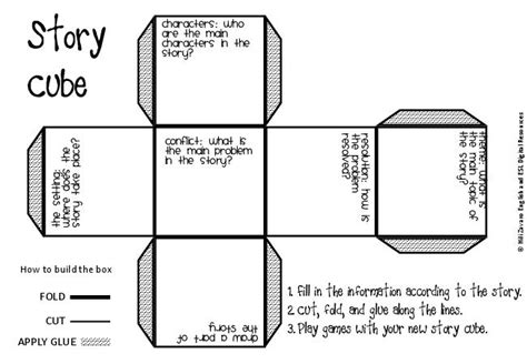 story cube template 7 best images of free printable story cube to make and