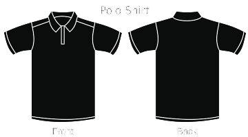 Kaos Serambier You Are Black 64 black polo shirt svg clip arts clip