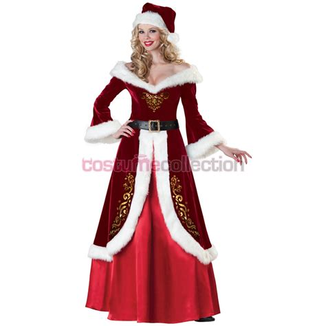 mrs claus christmas costume