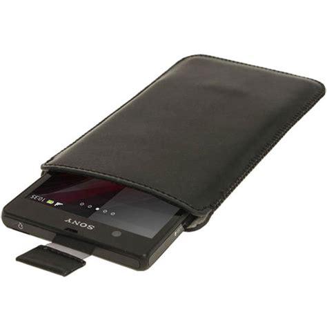 Leather Sony Xperia Z sony xperia z igadgitz leather black