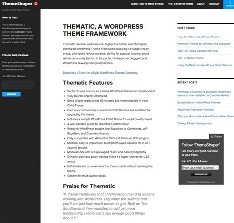 wordpress themes x framework 11 awesome wordpress theme frameworks web designer hub