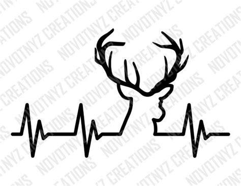 Deer Heartbeat deer heartbeat svg for by