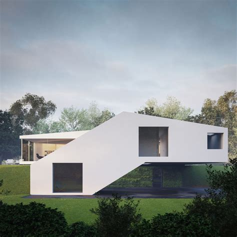 modern home design germany futuristic countryside home in southern germany modern