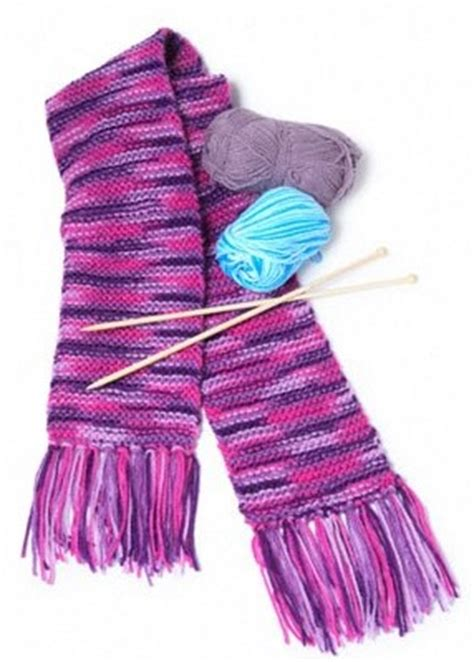 types of scarf knitting patterns craft shed for all