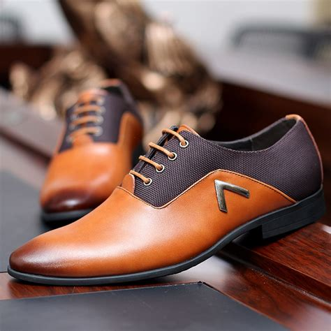 aliexpress buy 2017 formal leather shoes quality brand mens dress oxfords flats size 6