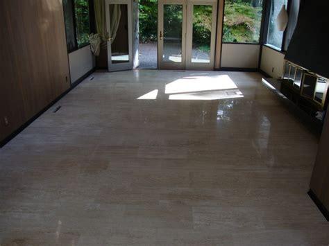 ivoria 12x24 vein cut travertine tile flooring project