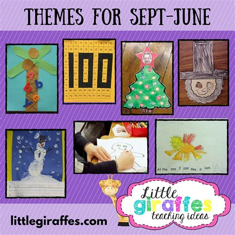 themes in teacher education little giraffes teaching ideas a to z teacher stuff themes