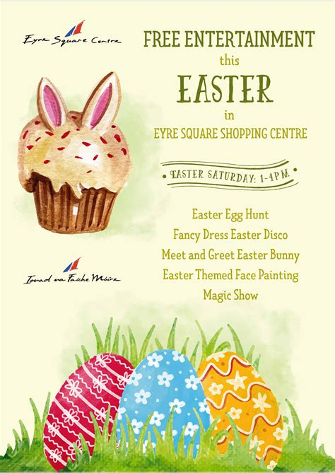 easter ideas 2017 easter entertainment 2017 eyre square centre