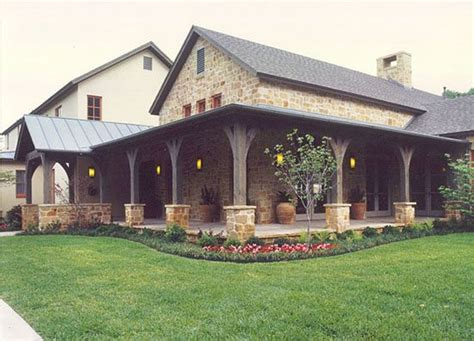 porch house plans modern quot hill country quot design great porch house plans