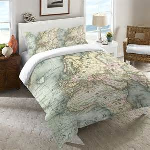 world map duvet cover world map duvet cover from laural home room