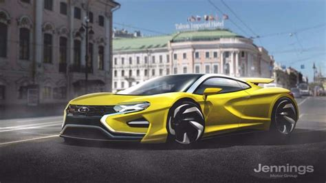 lada supercar 10 supercar concept renders that will never see the light