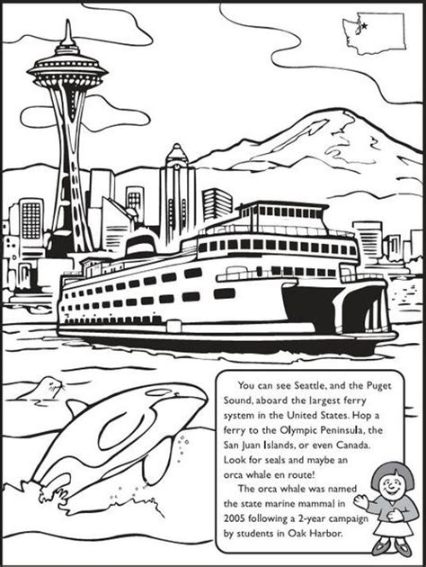 the of the state of washington a book for tourists classic reprint books for the the washington state coloring book