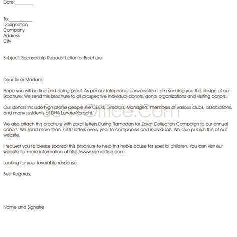 proper resume format sponsorship letter 28 images