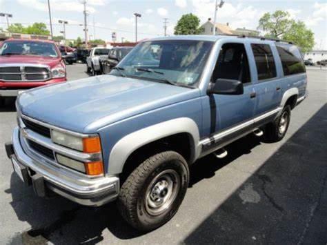 auto body repair training 2012 chevrolet suburban 2500 windshield wipe control sell used 1995 chevy suburban 2500 diesel in lebanon pennsylvania united states for us 10 000 00