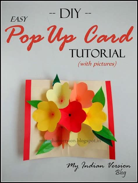pop up greeting card tutorials photos suits and flower on