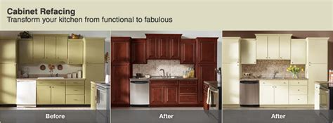 Cabinet Refacing Before And After Pics Before And After Cabinet Refacing Home Design Tips And