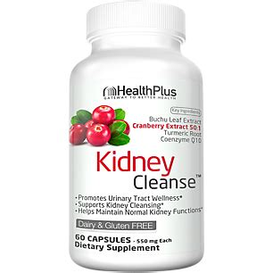 Vitamin Shoppe Detox by Kidney Cleanse 90 Capsules By Health Plus At The Vitamin