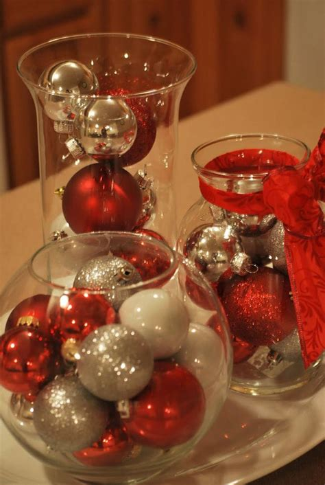 centerpieces with ornaments centerpiece ideas diy tutorials